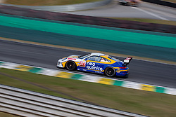 July 27, 2018 - Sao Paulo, Sao Paulo, Brazil - Car #277 in action during the free practice session for the 5th stage of the 2018 Brazilian Porsche GT3 Cup championship, which takes place on Saturday, 28 at Interlagos circuit in Sao Paulo, Brazil. (Credit Image: © Paulo Lopes via ZUMA Wire)