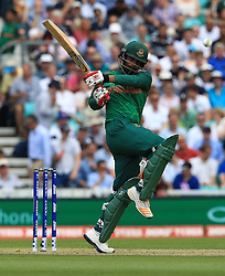 Bangladesh's Tamim Iqbal during the ICC Champions Trophy, Group A match at The Oval, London. PRESS ASSOCIATION Photo. Picture date: Thursday June 1, 2017. See PA story CRICKET England. Photo credit should read: John Walton/PA Wire. RESTRICTIONS: Editorial use only. No commercial use without prior written consent of the ECB. Still image use only. No moving images to emulate broadcast. No removing or obscuring of sponsor logos.
