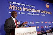 African dignitaries and investment leaders came together at Institutional Investor's Africa Investment Forum held April 11-12, 2011 at the Metropolitan Club in New York.