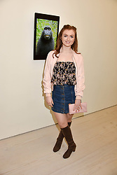 Maisie Smith at a preview of the 'From Selfie To Self-Expression' exhibition at The Saatchi Gallery, Duke Of York's HQ, King's Road, London, England. 30 March 2017.
