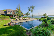 Waterfront estate overlooking Coecles Harbor, Little Ram Island Drive, Shelter Island, NY