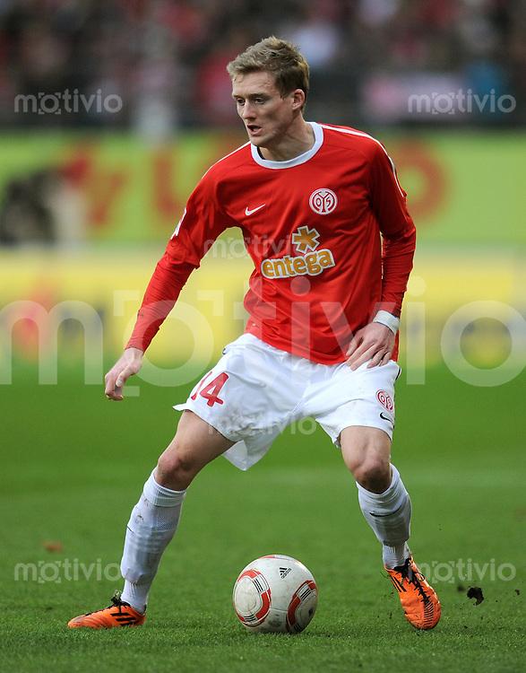 1. Fussball Bundesliga  Saison  2010/2011   21. Spieltag  05.02.2011 1 FSV Mainz 05 - SV Werder Bremen Andre Schuerrle (1. FSV Mainz 05)