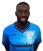 Ousseynou Cisse during photocall of Tours FC for new season of Ligue 2 on October 9th 2016<br /> Photo : Fct / Icon Sport