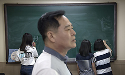 September 7, 2017 - Seoul, South Korea - Young Ho Kim, english teacher..Durihana International School, (DIS) is christian school for North Korean defectors, Seoul, South Korea, 2017-09-07....(c) IVARSSON JERKER  / Aftonbladet / IBL BildbyrÃ¥....* * * EXPRESSEN OUT * * *....AFTONBLADET / 2826 (Credit Image: © Ivarsson Jerker/Aftonbladet/IBL via ZUMA Wire)