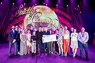 Teenage Cancer Trust former and current patients join P&amp;O Cruises and BBC's Strictly Come Dancing stars on Britannia, to celebrate P&amp;O Cruises raising &pound;100,000.<br />