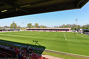 The Checkatrade.com Stadium, before the EFL Sky Bet League 2 match between Crawley Town and Plymouth Argyle at the Checkatrade.com Stadium, Crawley, England on 8 April 2017. Photo by David Charbit.
