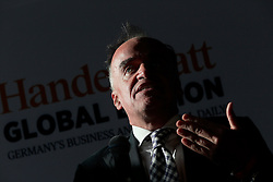 UK ENGLAND LONDON 21JUN16 - Lenny Fischer of Finanzinvestors RHJ International speaks during a podium discussion hosted by the Handelsblatt editorial office in Hoxton, London.<br /> <br /> jre/Photo by Jiri Rezac<br /> <br /> © Jiri Rezac 2016