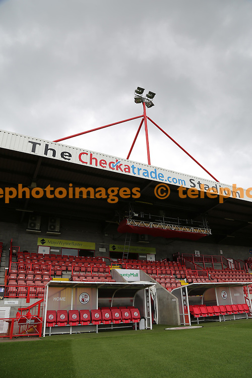 Crawley Town Football Clubs ground The Checkatrade.com Stadium.<br /> James Boardman / TELEPHOTO IMAGES 07967642437