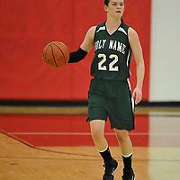 2.21.2011 Holy Name vs Vermilion Girls Varsity Basketball