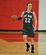 Vermilion vs. Holy Name girls varsity basketball on February 21, 2011.