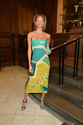MALAIKA FIRTH at the LDNY Fashion Show and WIE Award Gala sponsored by Maserati held at The Goldsmith's Hall, Foster Lane, City of London on 27th April 2015.