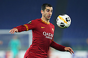 Henrikh Mkhitaryan of Roma in action during the UEFA Europa League, Group J football match between AS Roma and Wolfsberg AC on December 12, 2019 at Stadio Olimpico in Rome, Italy - Photo Federico Proietti / ProSportsImages / DPPI