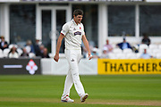 Craig Overton of Somerset during the Specsavers County Champ Div 1 match between Somerset County Cricket Club and Warwickshire County Cricket Club at the Cooper Associates County Ground, Taunton, United Kingdom on 19 May 2017. Photo by Graham Hunt.