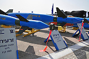Israel, Tel Nof IAF Base, An Israeli Air force (IAF) exhibition Air to air laser guided missile