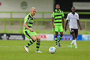 Forest Green Rovers Marcus Kelly (10) passes the ball during the Vanarama National League match between Forest Green Rovers and Bromley FC at the New Lawn, Forest Green, United Kingdom on 17 September 2016. Photo by Shane Healey.