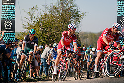 MARTIN Tony of Team Katusha - Alpecin in the peloton during the 115th Paris-Roubaix (1.UWT) from Compiègne to Roubaix (257 km) at cobblestones sector 25 from Briastre to Solesmes, France, 9 April 2017. Photo by Pim Nijland / PelotonPhotos.com | All photos usage must carry mandatory copyright credit (Peloton Photos | Pim Nijland)