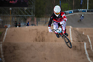 #2 (NYHAUG Tory) CAN at the 2014 UCI BMX Supercross World Cup in Santiago Del Estero, Argentina.
