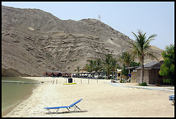 Oman Dive Center Resort located between Qantab and Barr Al Jissah, Oman. Photo By Andrew Parsons/i-Images.
