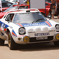 Lancia Stratos at Silverstone Classics 21/22 July 2012