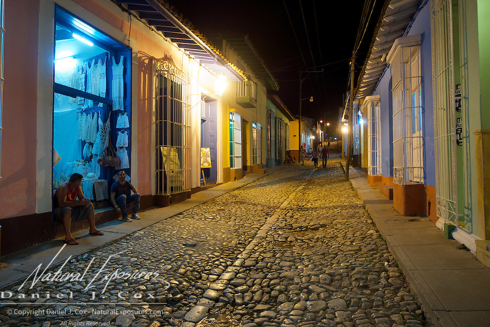 The streets of Trinidad, Cuba
