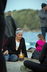 Tauranga-Candle light vigil for Jack Dixon one year on, Mt Maunganui