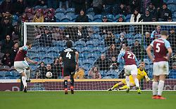 Chris Wood of Burnley (L) scores his sides first goal from the penalty spot - Mandatory by-line: Jack Phillips/JMP - 05/01/2019 - FOOTBALL - Turf Moor - Burnley, England - Burnley v Barnsley - English FA Cup