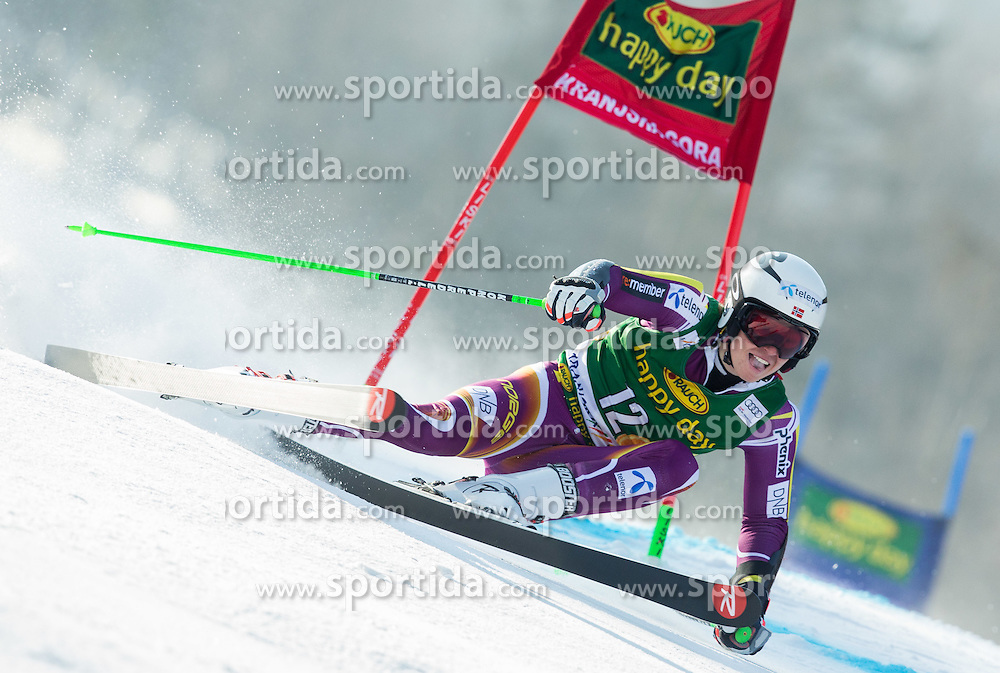 KRISTOFFERSEN Henrik of Norway competes in 1st Run during Men Giant Slalom race of FIS Alpine Ski World Cup 54th Vitranc Cup 2015, on March 14, 2015 in Kranjska Gora, Slovenia. Photo by Vid Ponikvar / Sportida