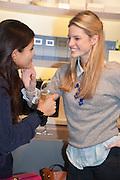 BIP LING; EMILY SHANKS, Smythson Sloane St. Store opening. London. 6 February 2012.