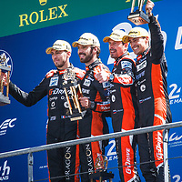 Winner LMP2 G-Drive Racing #26 on 17/06/2018 at the 24H of Le Mans, 2018