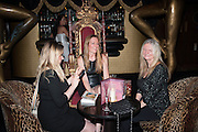 KATIE GLEN; KAREN JONES; VALERIE AUSTIN,   My Left Boob: A Cancer Diary by Sally Farmiloe-Neville , Sally Farmiloe - book launch party, Angels, 201 Wardour Street, London, W1F 8ZH