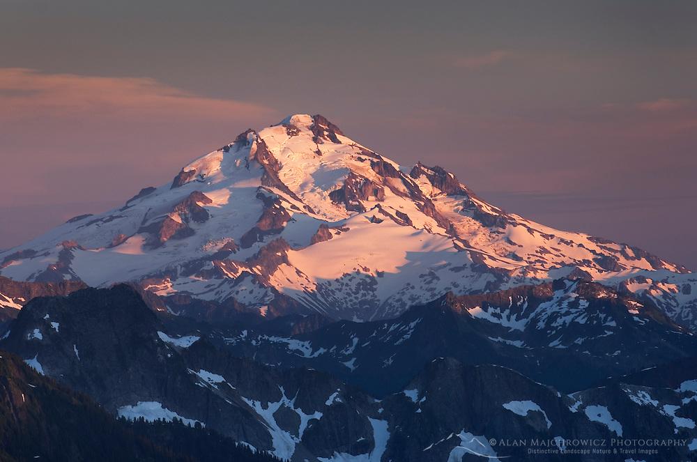 Glacier Peak seen from Hidden Lake Peak,  North Cascades Washington