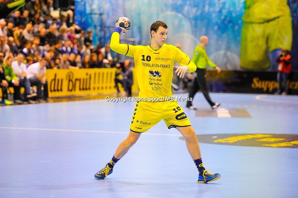 Barna Putics - 11.03.2015 - Tremblay / Montpellier - 18eme Journee de Division 1 <br /> Photo : Anthony Dibon / Icon Sport