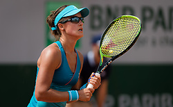 May 22, 2019 - Paris, FRANCE - Anastasia Rodionova of Australia in action during the first qualification round at the 2019 Roland Garros Grand Slam tennis tournament (Credit Image: © AFP7 via ZUMA Wire)