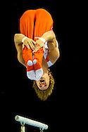 Epke Zonderland heeft bij de challengerwedstrijd turnen in Gent op het onderdeel rek goud heeft gewonnen. En celine van gerner heeft goud gewonnen op de brug robin utrecht