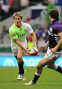 LONDON, ENGLAND - Saturday 10 May 2014, Mark Richards of South Africa during the match between South Africa and Scotland at the Marriott London Sevens rugby tournament being held at Twickenham Rugby Stadium in London as part of the HSBC Sevens World Series.<br /> Photo by Roger Sedres/ImageSA