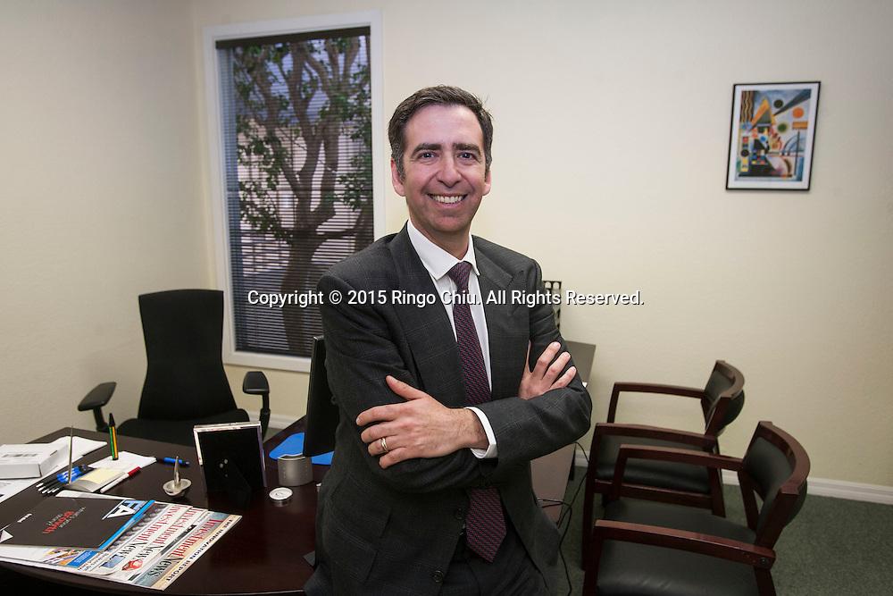 Michael Pinsker, CEO of Docupace. <br /> (Photo by Ringo Chiu/PHOTOFORMULA.com)