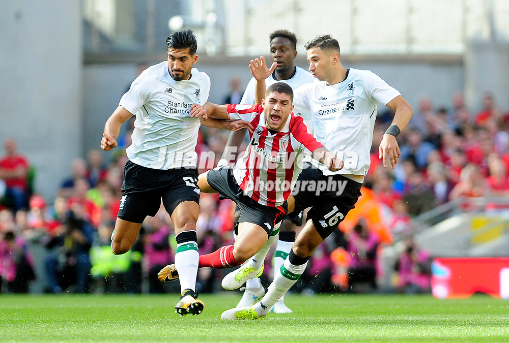 LIVERPOOL-ATHLETIC CLUB DE BILBAO<br /> UNAI NU&Ntilde;EZ