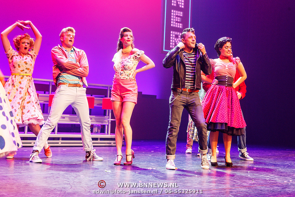 NLD/Tilburg/20150913 - Premiere musical Grease,