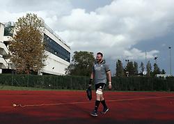 November 20, 2018 - Rome, Italy - Rugby All Blacks training - Vista Norther Tour.Captain Kieran Read at University Sport Center in Rome, Italy on November 20, 2018. (Credit Image: © Matteo Ciambelli/NurPhoto via ZUMA Press)