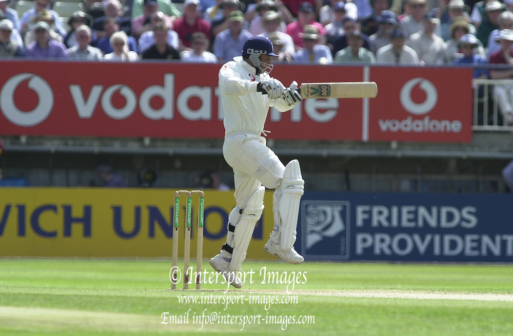 31/05/2002.Sport -Cricket - 2nd NPower Test -Second Day.England vs Sri Lanka.Marcus Trescothick [Mandatory Credit Peter Spurrier:Intersport Images]