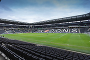 General view of the ground before the EFL Sky Bet League 1 match between Milton Keynes Dons and Burton Albion at stadium:mk, Milton Keynes, England on 5 October 2019.