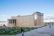 Erechtheion, Acropolis, Athens, Greece, UNESCO word heritage site