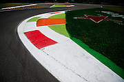 September 1, 2016: Monza curb detail , Italian Grand Prix at Monza