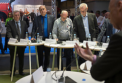 Herning, Danmark, 20130404: MCH Messe - Transport 2013. Åbning og rundgang. Politisk debat.Foto: Lars Møller.Herning, Denmark, 20130404: MCH Fair - Transport 2013. Opening. Political debate.Photo: Lars Moeller