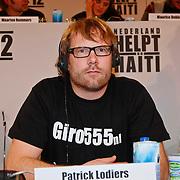 NLD/Hilversum/20100121 - Benefietactie voor het door een aardbeving getroffen Haiti, Patrick Lodiers