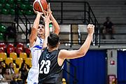 Tommaso Laquintana<br /> Germani Basket Brescia - Vanoli Cremona<br /> Basket Precampionato Serie A LBA 2019/2020<br /> Desio 15 September 2019<br /> Foto Mattia Ozbot / Ciamillo-Castoria