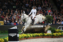 Dufresne Sidney, (FRA), Looping de Buissy<br /> Indoor Derby<br /> Stuttgart - German Masters 2015<br /> © Hippo Foto - Stefan Lafrentz
