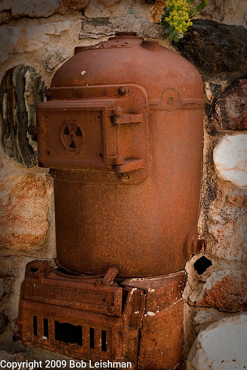 Old heating unit