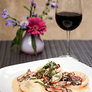August 18, 2012 - New Rochelle, NY : Posto 22, located at 22 Division Street in New Rochelle, NY, serves gourmet Italian cuisine from it's classic dining room. Pictured here, the lobster ravioli. CREDIT: Karsten Moran for The New York Times
