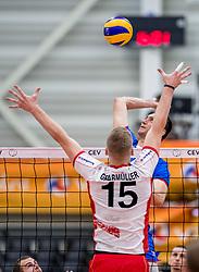 23-05-2017 NED: 2018 FIVB Volleyball World Championship qualification, Koog aan de Zaan<br /> Slowakije - Oostenrijk / Emanuel Kohut #3